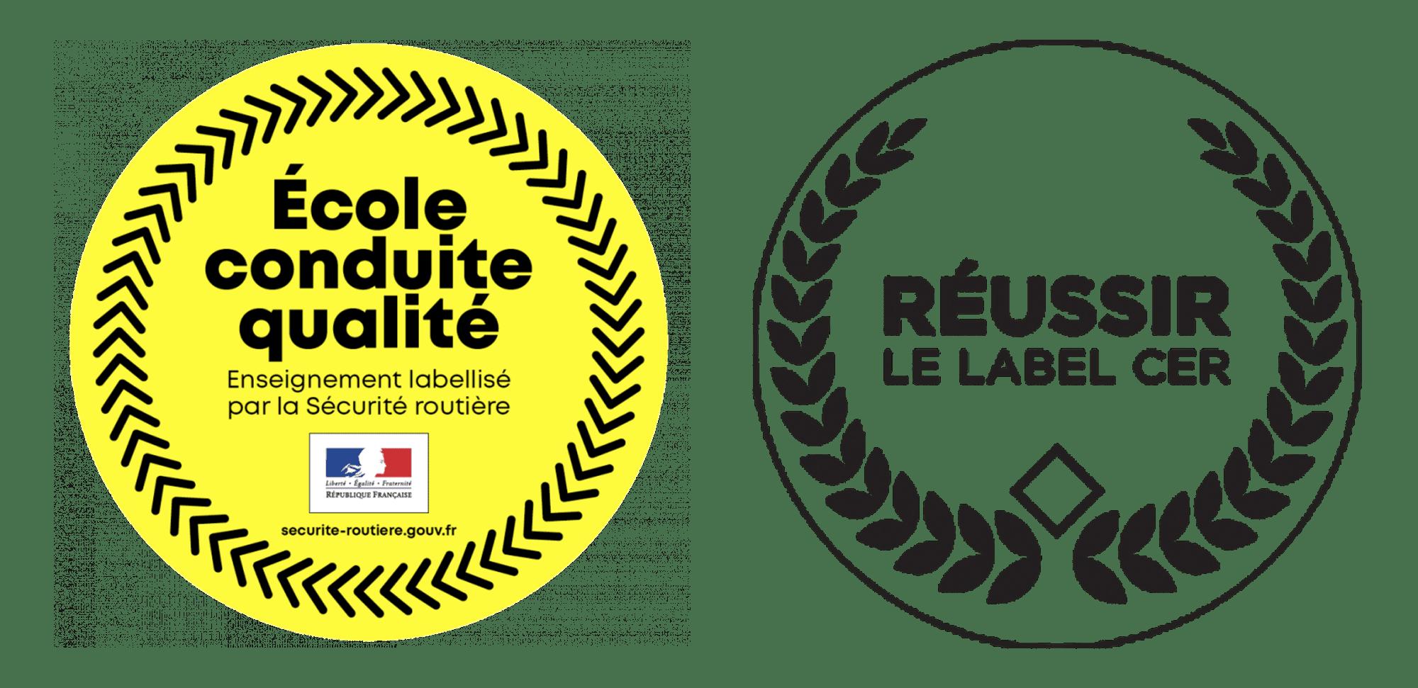 logo label reussir + label etat
